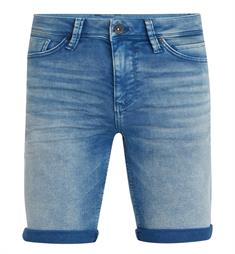 Purewhite Korte broeken THE JOEY W0257 Blue denim