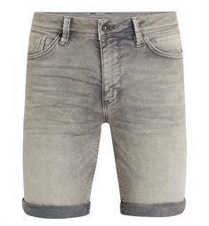 Purewhite Korte broeken The joey w0258 Grey denim