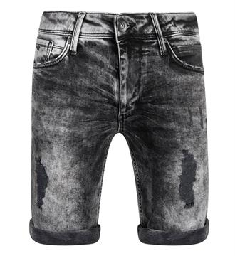 Purewhite Korte broeken The steve w0012 Black denim