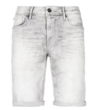 Purewhite Korte broeken The steve w0016 Grey denim