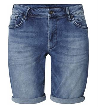 Purewhite Korte broeken The steve w0035 Medium blue denim