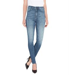 Purewhite Skinny jeans L0026 the rock Blauw