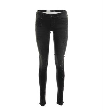 Purewhite Skinny jeans The jazz l0001 Black denim