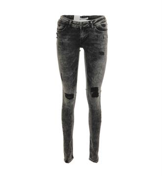 Purewhite Skinny jeans The jazz l0005 Black denim