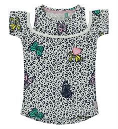 Quapi Korte mouw T-shirts Sunshine Multicolor