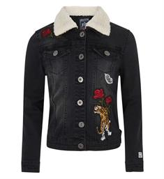 Retour Denim jackets Annemiek 620 Black denim