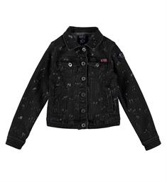 Retour Denim jackets Meriam 622 Black denim