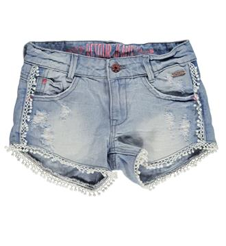 Retour Denim shorts Josje 463 Light blue denim