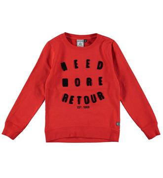 Retour Fleece truien Fileine 704 Rood