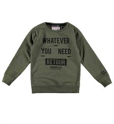 Retour Sweaters Guido 724 Army