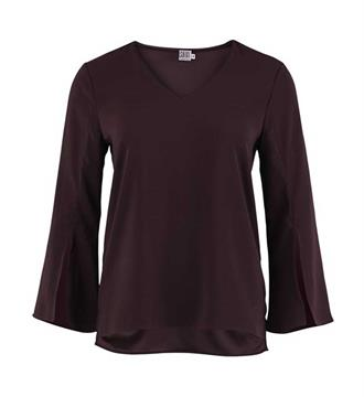 Saint Tropez Tops R1243 Bordeaux