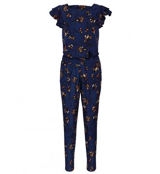 Sisters Point Jumpsuit Glem Blauw dessin