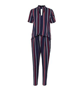 Sisters Point Jumpsuit Goodie-2 Blauw dessin