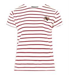 Sisters Point T-shirts Herm-ssstr1 Rood dessin