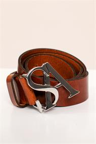 Studio Anneloes Riemen Sa silver buckle leather