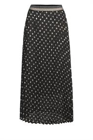 Summum Lange rokken 6s1156-11270 skirt double dot