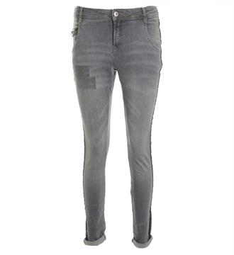Summum Slim jeans 4s1512-105844b Grey denim