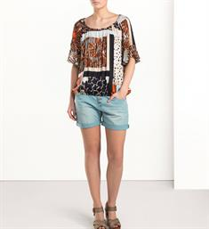 Summum T-shirts 2s2075-10579 Multicolor