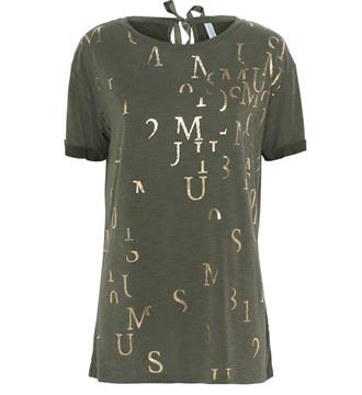 Summum T-shirts 3s4112-3927c Army
