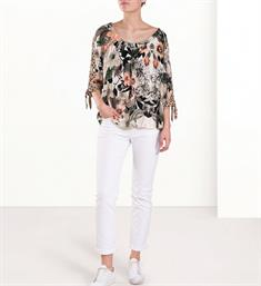 Summum Tops 2s2073-10585 Ecru dessin