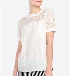 Summum Tops 2s2197-10855c Off-white
