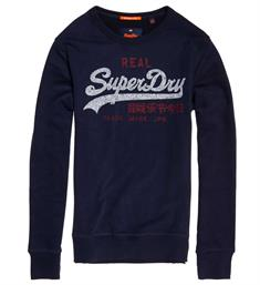 Superdry Fleece truien M20015hq Navy