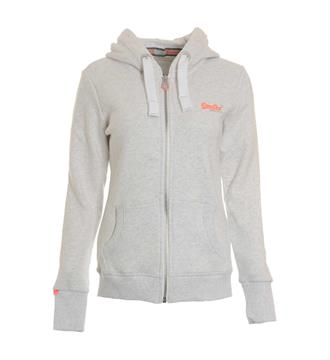 Superdry Fleece vesten G20007ns Grijs melee