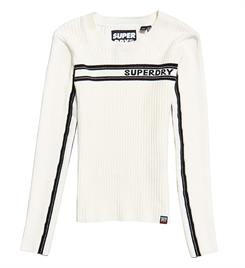 Superdry Gebreide truien W6100027a Off-white