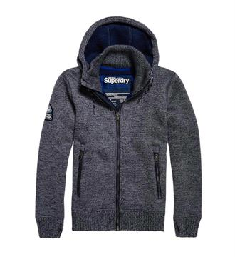 Superdry Gebreide vesten M20001mp Antraciet