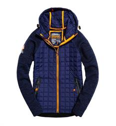 Superdry Gebreide vesten M20005mp Navy