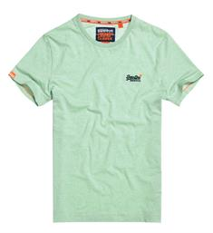 Superdry Korte mouw T-shirts M10105mt Mint