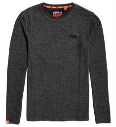 Superdry Lange mouw T-shirts M6000011a Antraciet