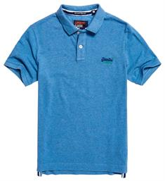 Superdry Polo's M11002oqf2 Kobalt
