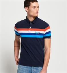 Superdry Polo's M11009et Navy