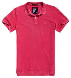Superdry Polo's M11009tqf5 Rood