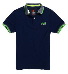 Superdry Polo's M11015et Navy