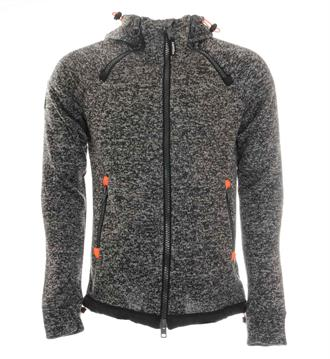 Superdry Sweatvesten Antraciet