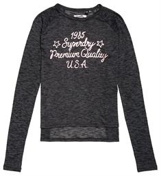 Superdry Sweatvesten W6000020a Antraciet