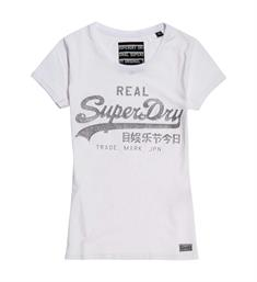 Superdry T-shirts G10004fq Wit