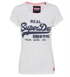 Superdry T-shirts G10007fqds Wit dessin