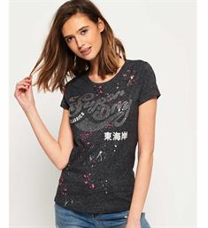 Superdry T-shirts G10023sq Antraciet