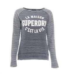 Superdry T-shirts G6002ep Blauw dessin