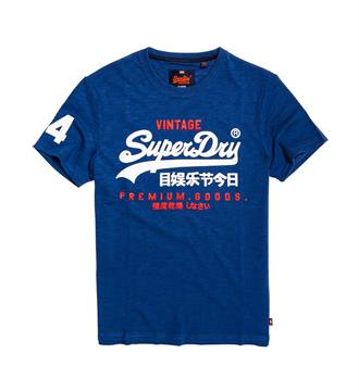 Superdry T-shirts M10006pq Navy