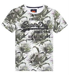 Superdry T-shirts M10008hq Wit dessin