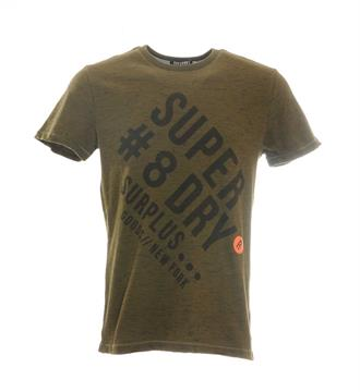 Superdry T-shirts M10014tp Army