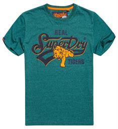 Superdry T-shirts M10025tr Donkergroen