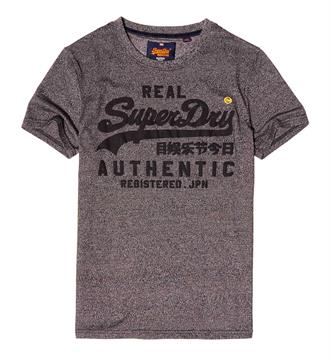 Superdry T-shirts M10031xp Antraciet