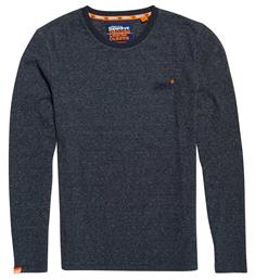 Superdry T-shirts M60001mr Blauw melee