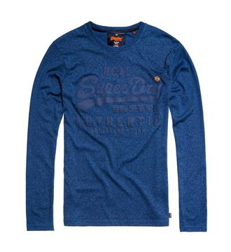 Superdry T-shirts M60026xp Blauw melee