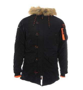 Superdry Winterjassen M50000ypf1 Navy